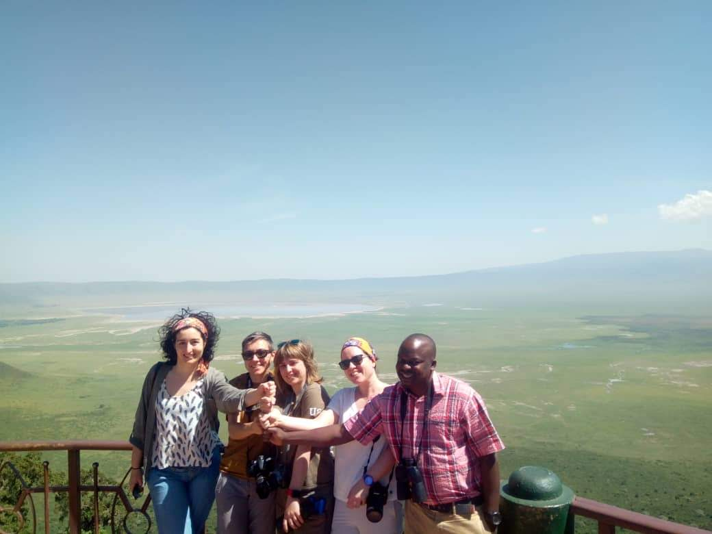 at Ngorngoro
