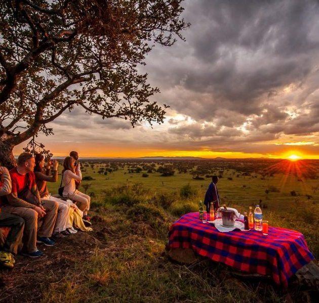 Camping serengeti