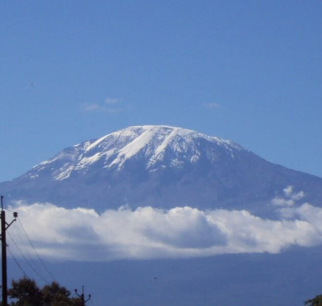 The Kilimanjaro Mountain, Tanzania