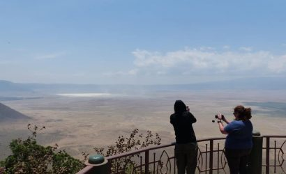 Walking safari ngorongoro